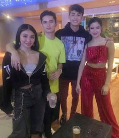 vaughnic IG post Dec 12 2018 JaDine and DonKiss After Party Donny Pangilinan, Christmas Concert, Jadine, Prom Dresses, Formal Dresses, Beautiful Pictures, Parents, Abs, Street Style