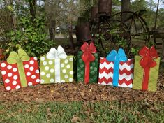 Christmas yard art Christmas decoration yard art seasonal | Etsy