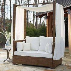 【楽天市場】Panama Jack Outdoor St. Barths Daybed with Cushion ガーデン テーブルセット【送料無料】【代引不可】【あす楽不可】【05P20Aug16】【0818】:【I LOVE LA】