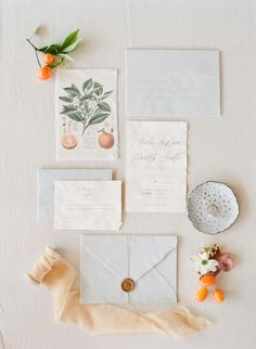 Fresh orange wedding