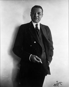 "Bert Williams (1875–1922) was the pre-eminent Black entertainer of his era & 1 of the most popular comedians for all audiences of his time. In an age when racial inequality & stereotyping were an accepted part of life, he became the 1st black American to take a lead role on  Broadway, & did much to push back racial barriers during his career. Fellow vaudevillian W.C. Fields, described him as ""the funniest man I ever saw—& the saddest man I ever knew."