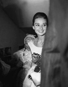 """""""Audrey Hepburn, 1958 """""""
