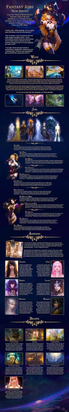Fantasy Jobs (First draft) - Imgur