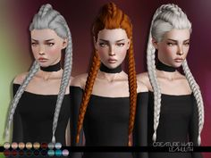 Creature Hair Found in TSR Category 'Female Sims 3 Hairstyles'