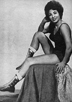 Old School female wrestler Rita Cortez