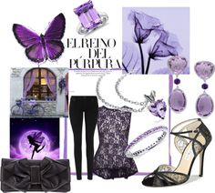 """Purple Dream"" by jancarlson on Polyvore"