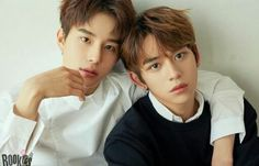 Two newest SM Rookies! SR17B Jungwoo and Lucas (Yukhei) Aren't they beautiful?