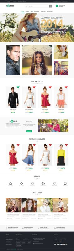 Rubbez - Responsive Magento Theme #ecommerce #website Download: http://themeforest.net/item/rubbez-responsive-magento-theme/9495252?ref=ksioks