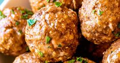 Whether you're prepping for dinner or planning a party, this all-purpose recipe for the best meatballs can fit any occasion. Easy to adjust to your tastes and serving size!