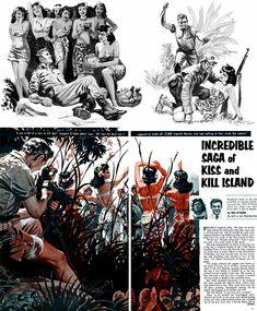 """Incredible Saga Of Kiss And Kill Island"""" (1959)"""