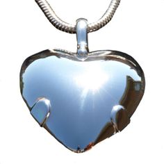 Strong EMF Protection Level 2 Sterling Silver Bioelectric Shield Heart | eBay Empaths need extra protection - check this out - #EMPATH #BIOSHIELD