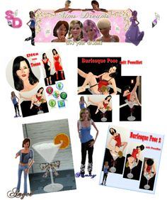 Hello here are our Todays Update   We have a Special Update for your because the 3th anniversary day. 2 Poses a Sims Lady and the Barstool from Angel   Have fun with it