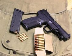 FN 5.7. I'm thinking about making this my next purchase. To bad I can't carry it at work!