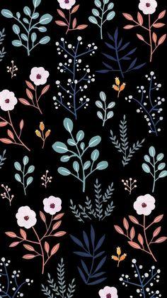 Flowery Wallpaper, Flower Phone Wallpaper, Cute Patterns Wallpaper, Iphone Background Wallpaper, Aesthetic Iphone Wallpaper, Aesthetic Wallpapers, Cute Wallpaper Backgrounds, Pretty Wallpapers, Wallpaper Space