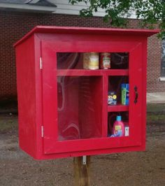 In Fayetteville, Arkansas, Jessica McClard has created a powerful testament to positive karma and community in the form of a small cupboard. Funded via a $250 micro-grant from Thrivent Finacial, The Little Free Pantry sits in front of the town's Good Shepherd Lutheran Church, across from a school and low-income housing, to provide a place for locals to both give and receive donations of food and other household goods. From peanut butter to diapers, the turnover of contents is both fast and…
