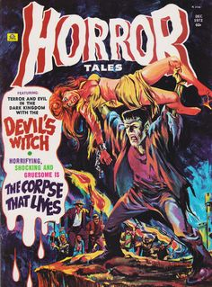 Cover for Horror Tales (Eerie Publications, 1969 series) #v4#7