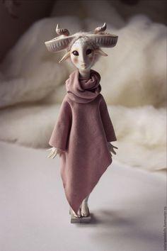 Clay Dolls, Art Dolls, Fantasy Creatures, Mythical Creatures, Character Design, 3d Character, Character Concept, Elfa, Art Antique