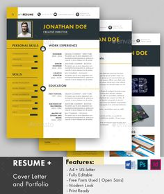 #Resume - Resumes Stationery Download here: https://graphicriver.net/item/resume/19540487?ref=alena994