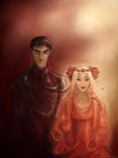 Like how pretty Ibo and I are!  Hades and Persephone by *Arbetta on deviantART