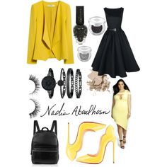 Sexy Bumble by not1997 on Polyvore featuring moda, MANGO, Boohoo, Christian Louboutin, Elizabeth and James, Anne Klein, Bobbi Brown Cosmetics, Urban Decay, contestentry and PVCurvyChic