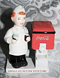 Coca-Cola Salt & Pepper