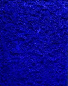 Yves Klein Blue--the paint color I wish I could afford for my living room wall.
