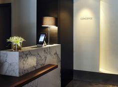 concierge desk at the dupont circle hotel - Concierge Desk Design