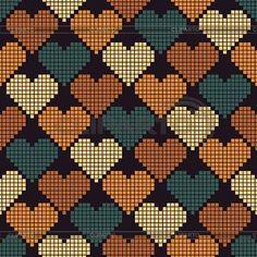Wayuu Mochilla Taschen-Diagramm - Yurdagul Yesilbursa - tot de Als - Wayu . click picture for Tapestry Crochet Patterns, Loom Patterns, Beading Patterns, Pixel Crochet, Crochet Chart, Knitting Charts, Knitting Patterns, Cross Stitch Designs, Cross Stitch Patterns