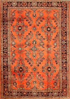 Antique Sultanabad Persian Rugs 43227 Main Image - By Nazmiyal