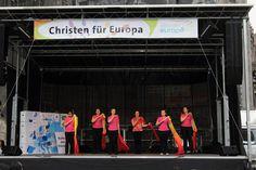 """Banner von bannerstop.com für die Aktion """"Christen für Europa""""."""