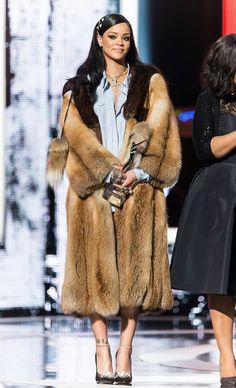 Rihanna attends Black Girls Rock (April. 1)