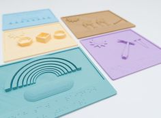 If you (or your school) have a 3D printer, then you can download and print these braille tactile books for free!