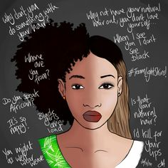 This photo speaks for itself. Black women understand. Embrace your essence.