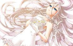 Télécharger fonds d'écran IA, 4k, du manga, de l'art, des fleurs, des Vocaloid
