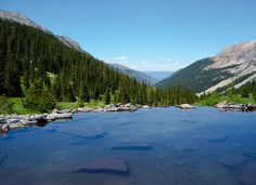 Conundrum Hot Springs, Colorado hiking trail