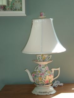 Chintz Lamp