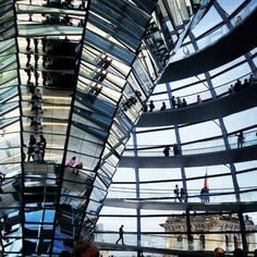 Climb the dome at the Reichstag