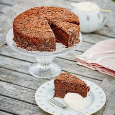 Grand Cru Chocolate Sachertorte | Deliciously decadent Swiss dark chocolate cake with an apricot filling | £15.00