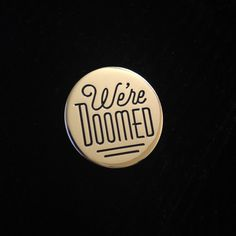 Star Wars enamel pin We're Doomed C-3PO Quote by AjbdesignShop