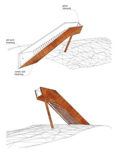 Forest Stair in Stokke,sketch