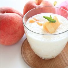Ginger-Peach Passion - Quick and Healthy Smoothie Recipes for Pregnancy - Fit Pregnancy