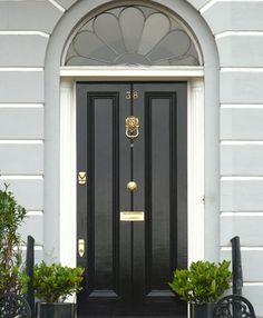 The London Door Company Jet Black Paint Colour Gloss
