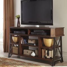 Signature Design by Ashley Vinasville TV Stand & Reviews | Wayfair
