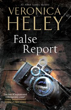 False Report by Veronica Heley  While Bea Abbot worries that she's lost control of her domestic agency, she's asked to find some domestic help for an eccentric little musician falsely accused of murder. She doesn't realize how dangerous this might be until Jeremy - fleeing from attempts on his life - lands up on her doorstep. Researching the gang who'd used an attractive girl to entrap Jeremy, Bea finds traces of them throughout high society... #BeaAbbot #femalesleuth #murder #cleaninglady