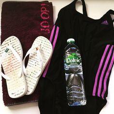 Work Out ist angesagt!  #workout #fitness #swimming #blog #prachtseite #adidas #swimsuit #hawaianas #joop #volvic #sport #berlin #instagood #instamood #instadaily #blogger_de #tags #lifestyle #like4like #lifestyleblog