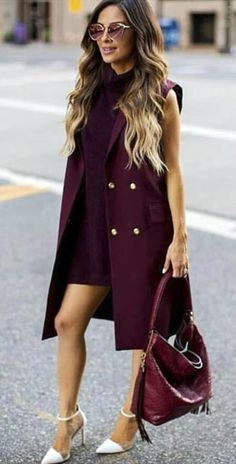 100 Fall Outfits to Wear This 2018 Vol. 2 031 100 Fall Outfits to Wear This 2018 Vol. Fall Outfits 2018, Trendy Fall Outfits, Look Formal, Latest Fashion For Women, Womens Fashion, Winter Stil, Fashion Outfits, Fashion Trends, Ootd Fashion