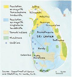 Population du Sri Lanka, par Agnès Stienne (Le Monde diplomatique, juin 2014)