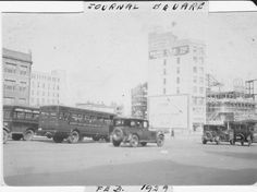 Journal Square, Jersey City, February 1929.