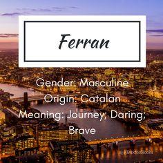 Ferran - boy's name