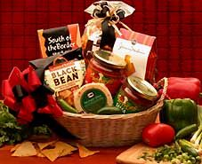 Mexican themed gift basket